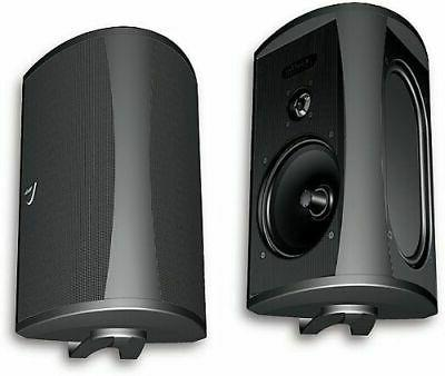 aw 5500 outdoor speaker single black