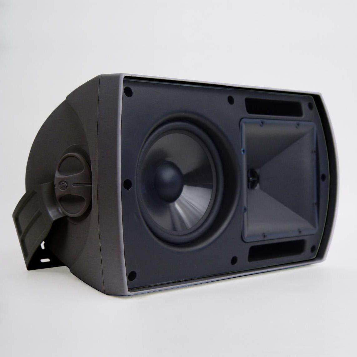 aw 650 indoor outdoor speaker black pair