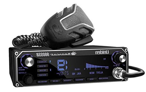 Color Digital Display PA//CB Switch and Noise Cancelling Mic Uniden BEARCAT 980SSB 40 Channel SSB CB Radio with Sideband NOAA WeatherBand,7 Wireless Mic Compatible BEARCAT980SSB