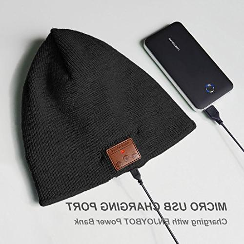 Enjoybot Bluetooth Beanie Knit Winter with and Sports