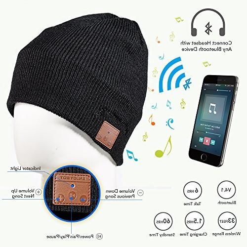 Enjoybot Beanie Wireless Knit Hats and for Sports