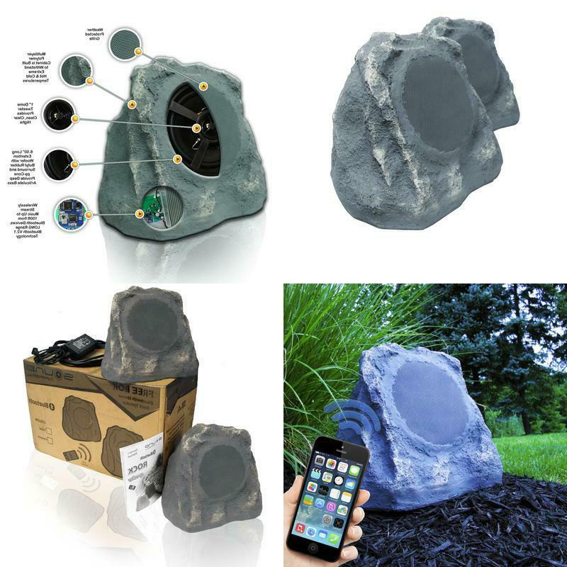 bluetooth outdoor rock speakers high fidelity sound