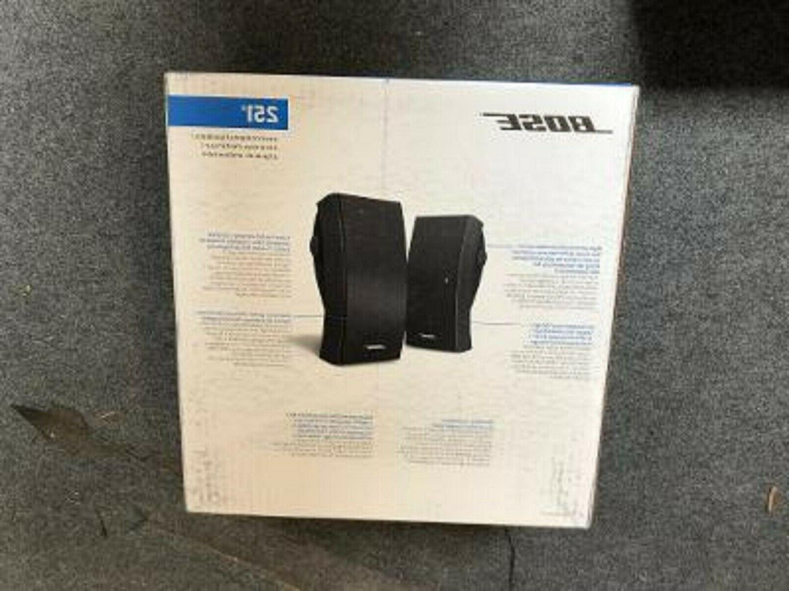 bose 251 environmental outdoor black and white