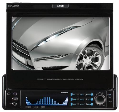 BOSS In-Dash Touchscreen DVD/CD/USB/SD/MP4/MP3 with