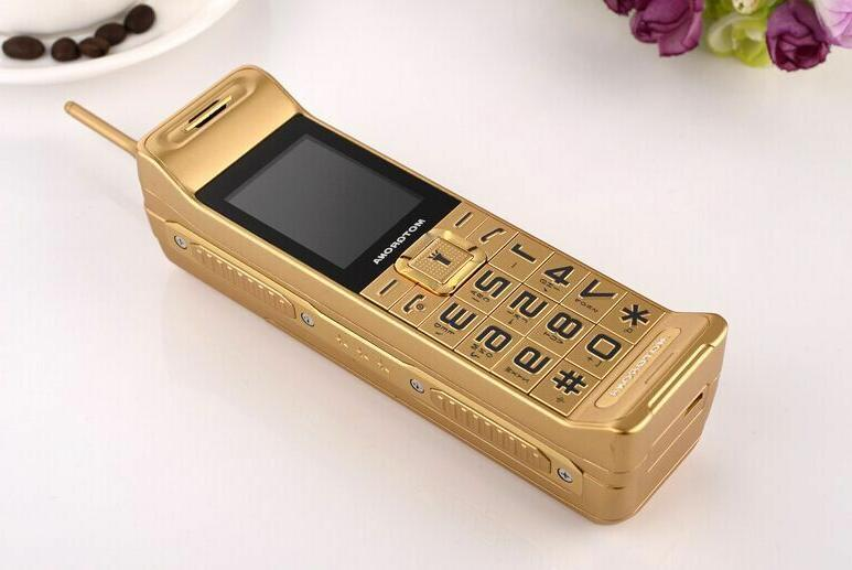 Classic Vintage Retro Mobile phone Dual Loud Speaker Standby
