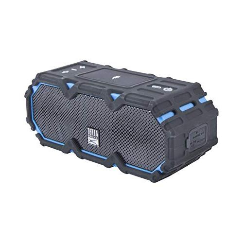 Altec Lansing IMW580 Lifejacket Jolt and Waterproof Speaker with Qi Charging, 20 Hours Battery Range Voice