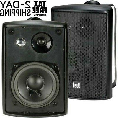 indoor outdoor speakers 3 way 100watt weather