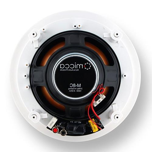 "Micca M-8C 2-Way In-Ceiling with 1"" Dome"