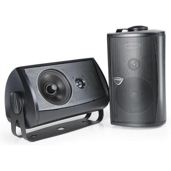 New Technology Outdoor All Weather Speaker Black
