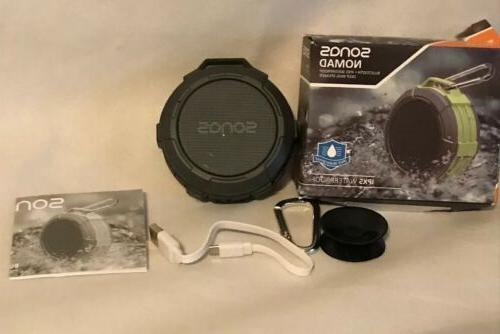 Sonas Sounds Nomad Outdoor IPX5 Waterproof Bluetooth