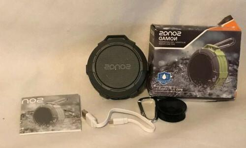 nomad portable outdoor wireless ipx5 waterproof bluetooth
