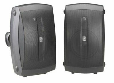 "Klipsch White 5.25/"" Two-Way All Weather Pair Loudspeakers Bstock"
