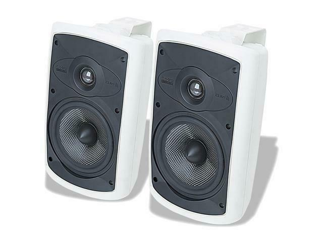Niles OS6.5 White   6 Inch 2-Way High Performance Indoor Out
