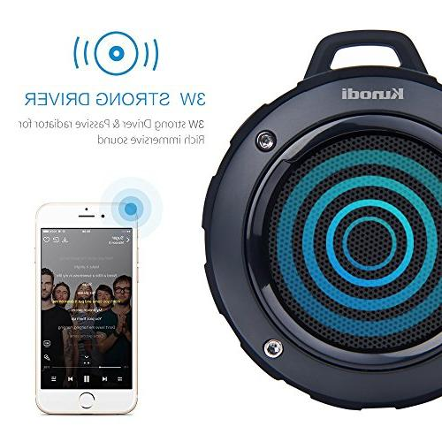 Outdoor Wireless Travel Speaker with Mic for Pool, Beach, Hiking,