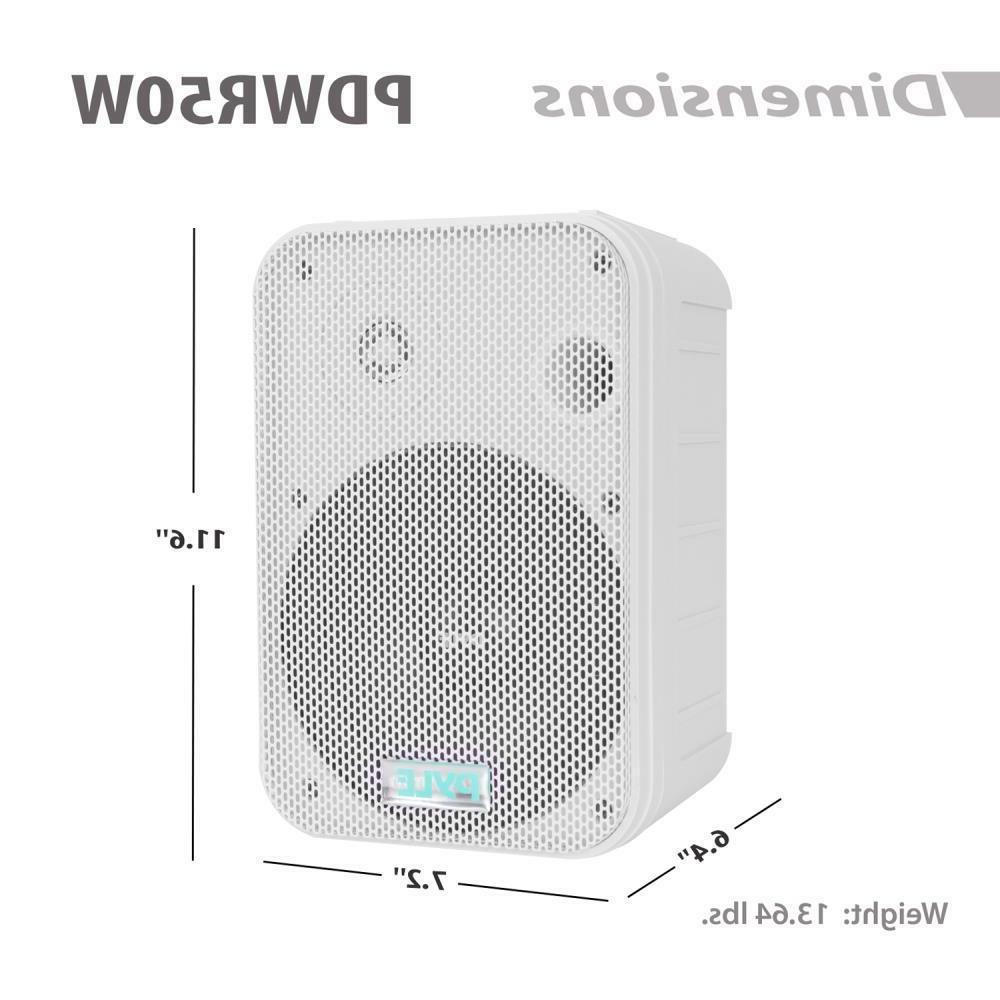 "Pyle PDWR50W 6.5"" 500W Speakers"