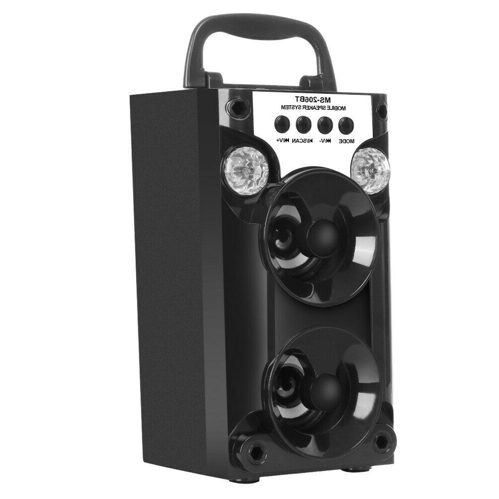Portable Outdoor USB AUX Radio Super Speaker