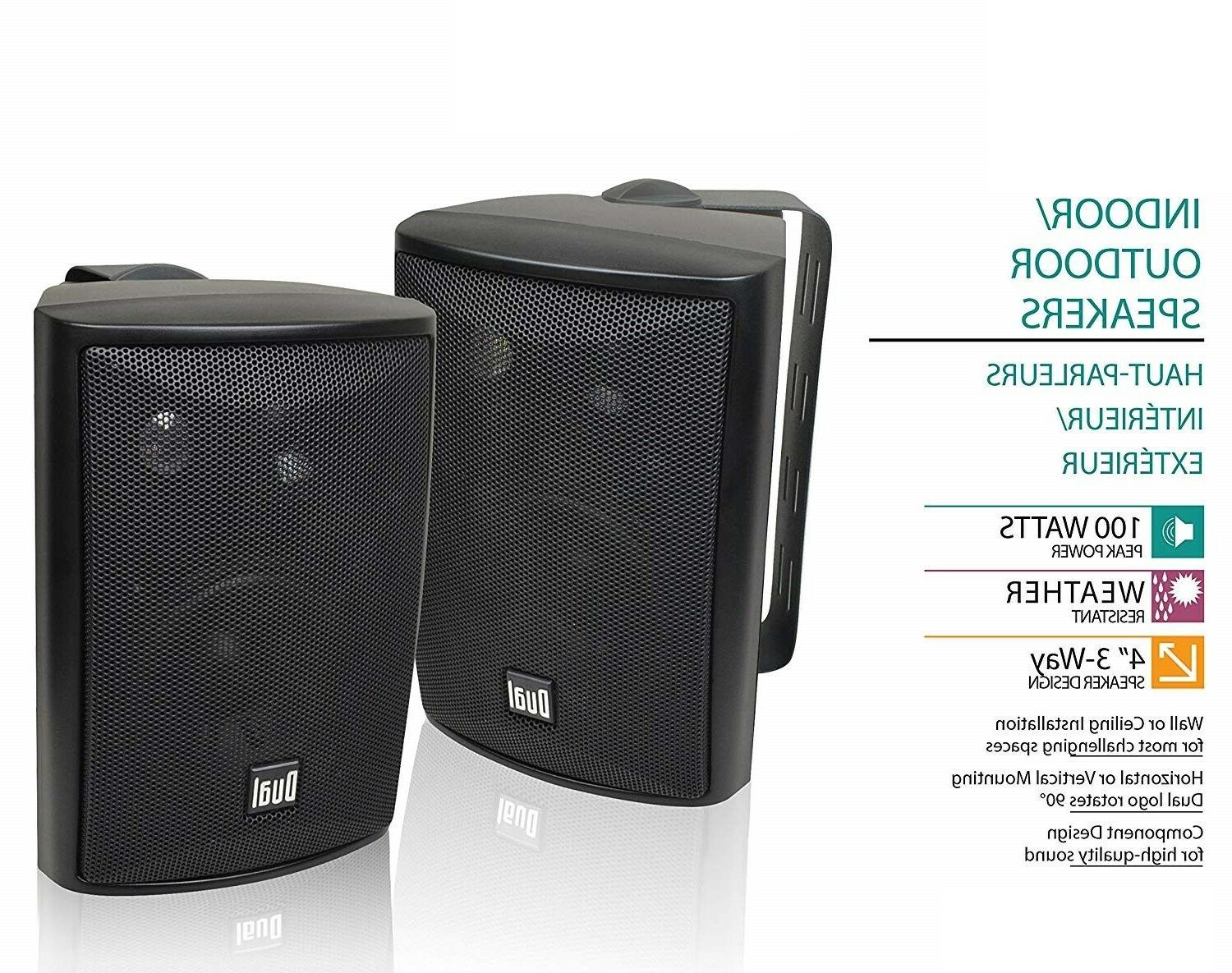 Sold 3-Way Outdoor Speakers Bass