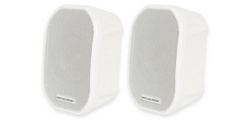 Theater Solutions TS38W Mountable Indoor or Outdoor Speakers