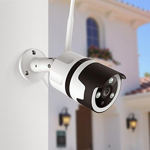 Outdoor Netvue 1080P WiFi Camera Audio, IP66 Waterproof, FHD Motion Detection, Camera Alert, Storage