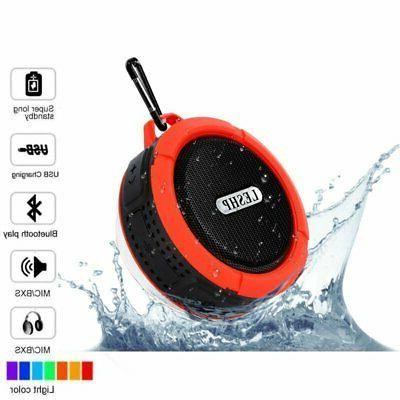 Waterproof Bluetooth Speaker Shower Outdoor Bathroom Portabl
