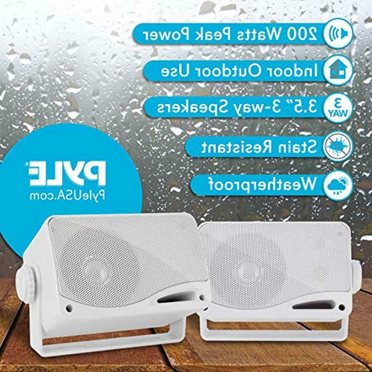 Waterproof Speakers Mini Box RV