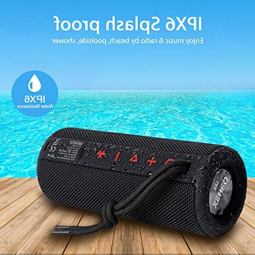 Xeneo X21 Wireless With FM Micro SD card Slot, TWS Shower - Hard Travel Case Included