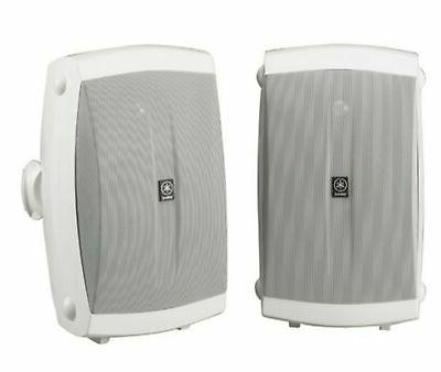 Yamaha NS-AW350W All-Weather Indoor/Outdoor 2-Way Speakers -