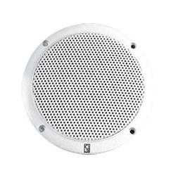 "Poly-Planar MA-4056-W 6"" 2-Way Coaxial White 40W,"