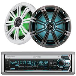 Kenwood Marine Boat Yacht Outdoor CD MP3 USB Aux Bluetooth A