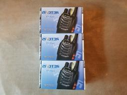 NEW 3PACK Retevis H777 Portable Two-Way Radio 16CH CTCSS/DCS