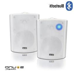 NEW - Sound Appeal Blutooth patio indoor/outdoor speakers SA