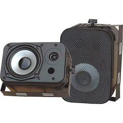 NEW Outdoor Indoor Speakers.Pair.waterproof.Marine.Boat.Pati