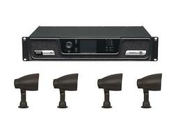 Niles NI-GS-4-KIT Outdoor Sound System w Crown CDi 2/300 Amp