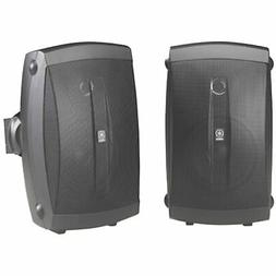 Yamaha NS-AW150BL 2-Way Indoor/Outdoor Speakers  - Wired & A