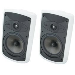 Niles OS7.5 White  7 Inch 2-Way High Performance Indoor/Outd