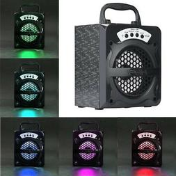 Outdoor Portable Wireless Bluetooth Speaker Super Bass with
