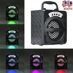 Outdoor Wireless Portable Bluetooth Speaker Super Bass with