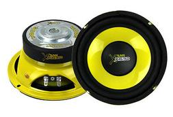 Pyle 6.5 Inch Mid Bass Woofer Sound Speaker System - Pro Lou