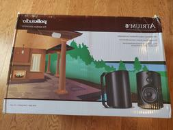 Polk Audio Atrium 6 Outdoor Speakers  - Black NEW