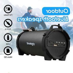 Portable Bluetooth Speakers Wireless Outdoor Waterproof Bass