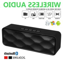 Portable Bluetooth Speakers Wireless Outdoor Waterproof Ster