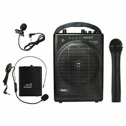 Pyle Portable Outdoor PA Speaker Amplifier System & Micropho