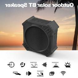 Portable Wireless Bluetooth Solar Powered Outdoor Speaker IP