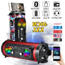Portable Wireless bluetooth Speaker Subwoofer Loud Bass Ster