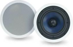 "Polk Audio RC80i 2-way Premium In-Ceiling 8"" Round Speakers,"