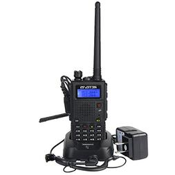 Retevis RT5 Two Way Radio with 128 Channels VHF/UHF Dual Ban