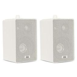 Acoustic Audio by Goldwood Speakers Mountable Pair White Ind