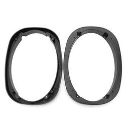 2Pcs 1 Inch Thick 6 x 9 Inch Solid Universal Car Stereo Spea