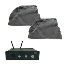 TIC Rock Outdoor Speakers with Airplay Bluetooth Amplifier 1