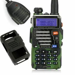 Baofeng UV-5R Plus Qualette Camouflage Outdoor V/UHF Two-Way